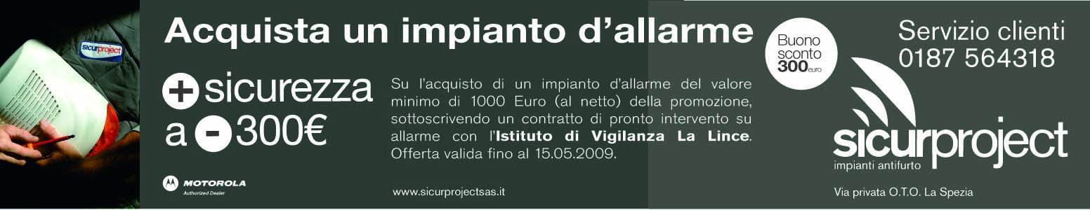 SICUR PROJECT_LaNazione_Pubblicità_2009